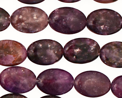 Lepidolite Flat Oval 14x10mm