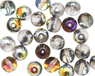 Czech Glass Crystal/Marea Round 8mm