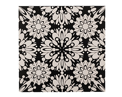 Lillypilly Black Kaleidoscope Anodized Aluminum Sheet 3