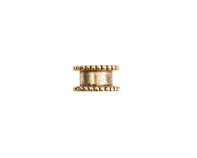 Nunn Design Antique Gold (plated) Small Channel 6x11mm