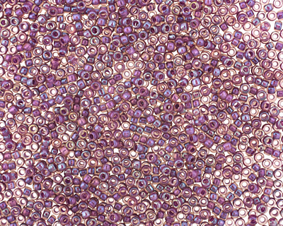 TOHO Rainbow Rosaline (with Opaque Purple Lining) Round 15/0 Seed Bead