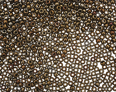 TOHO Metallic Iris Brown Round 11/0 Seed Bead