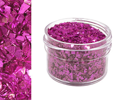 Alexandrite Vintage Glass Glitter (Shards) 1 oz.