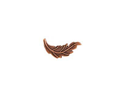 Nunn Design Antique Copper (plated) Leaf Toggle Bar 20x7mm