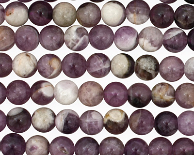 Dogtooth Amethyst Round 6mm