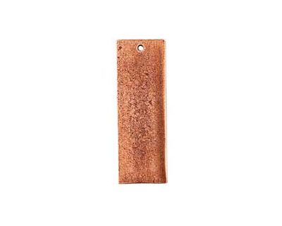 Nunn Design Antique Copper (plated) Flat Grande Thin Tag 13x37mm