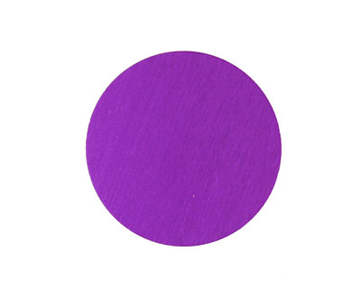 Lillypilly Purple Anodized Aluminum Disc 25mm, 24 gauge