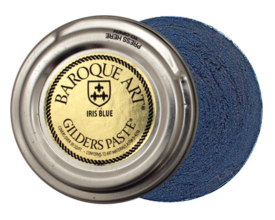 Iris Blue Baroque Art Gilders Paste 1.5oz