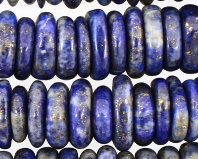 Lapis Irregular Wheel 4-6x12-15mm