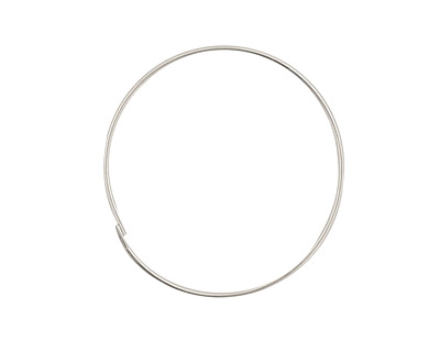 Sterling Silver Hoop Ear Wire 1