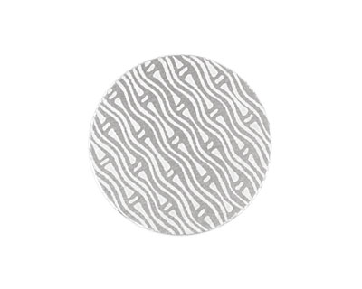 Lillypilly Silver Reeds Anodized Aluminum Disc 25mm, 22 gauge
