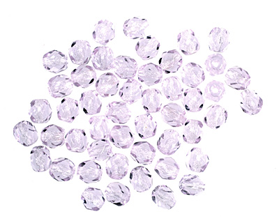 Czech Fire Polished Glass Alexandrite Round 4mm