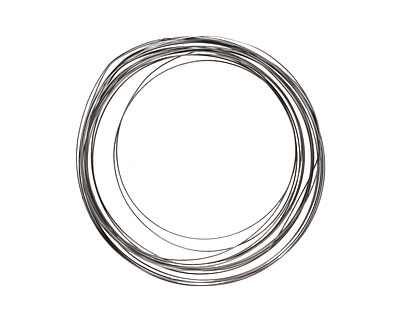 Soft Flex Silver Plated Pewter Half Round Craft Wire 21 gauge, 4 yards
