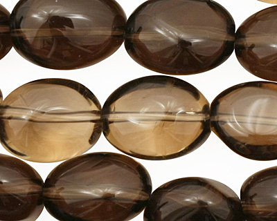 Smoky Quartz Tumbled Nugget 15-17x12-13mm