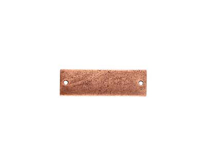 Nunn Design Antique Copper (plated) Flat Large Thin Tag Link 9x30mm