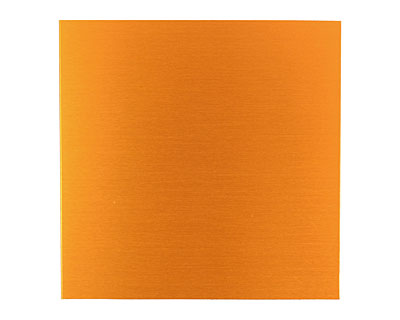 Lillypilly Orange Anodized Aluminum Sheet 3