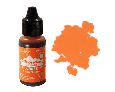Adirondack Sunset Orange Alcohol Ink 15ml