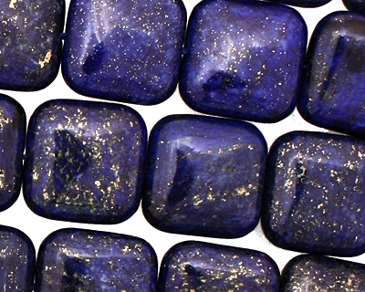 Afghanistan Lapis Puff Square 15mm