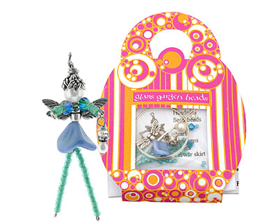 Glass Garden Summer Blue Fairy Kit