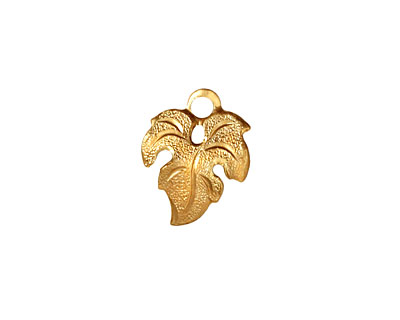 Brass Small Maple Leaf 13x16mm