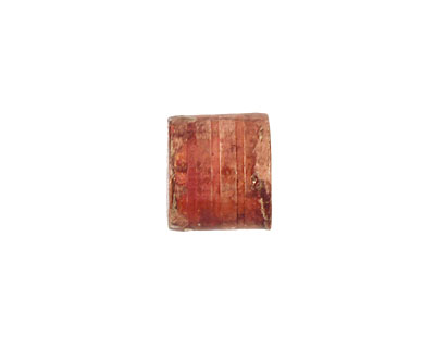Patricia Healey Copper Small Ridged Barrel 12x14mm