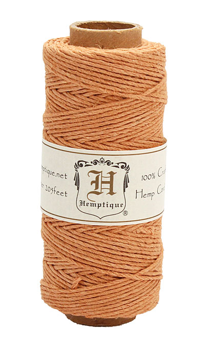 Cappuccino Candy Hemp Twine 20 lb, 205 ft
