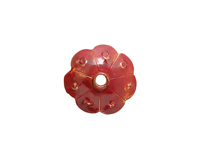 Patricia Healey Copper Flower Bead Cap 6x16mm