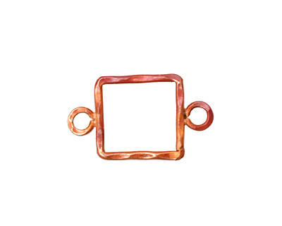 Patricia Healey Copper Small Square Link w/ 2 Loops 25x15mm