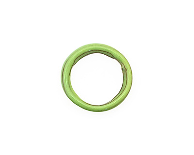 C-Koop Enameled Metal Lime Large Ring 16-17mm