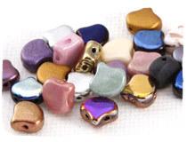 Ginkgo Leaf Seed Beads