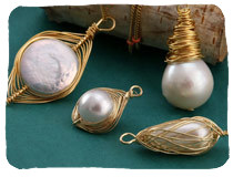 Pearl Charms and Pendants