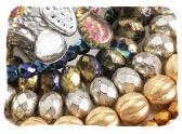 Metallic Czech Glass Beads