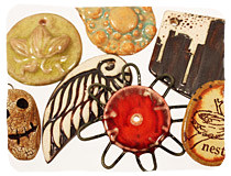 Ceramic Charms & Pendants