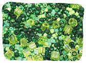 Green TOHO Seed Beads