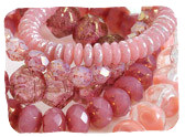 Pink Czech Glass