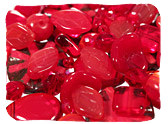 Red Czech Glass