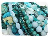 Aqua & Turquoise Gemstones