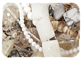 White & Clear Gemstones