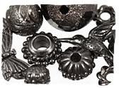 Gunmetal Beads