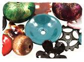 Patina & Enamel Beads