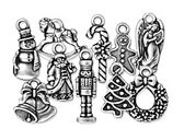 Metal Holiday Beads & Charms
