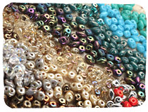 SuperDuo Seed Beads
