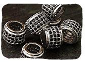CZ Pave Beads